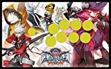BLAZBLUE CENTRALFICTION 2.0 authorized special faceplate Fight Stick Art for Mad Catz TE2 and TE2+