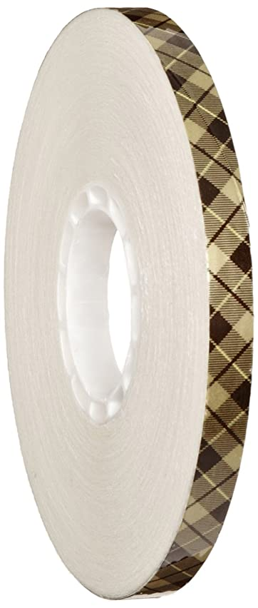 3M Scotch 908 ATG Gold Tape (Acid Neutral): 1/4 in. x 36 yds. (Clear Adhesive on Tan Liner)