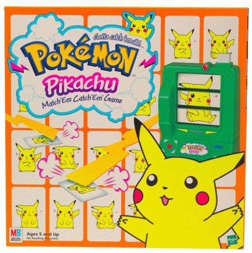 Pokemon Pikachu Match'em Catch'em Game