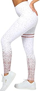NonEcho High Waist Yoga Pants Fitness Leggings Stretchy Workout Tights for Women Capris Activewear