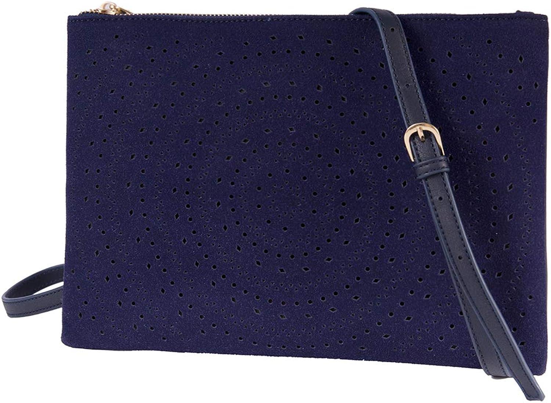 Crossbody Bag Handbag Women Cut Out Clutch Purse Vegan Shoulder Bags Medium Size