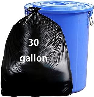 Nicesh 30 Gallon Garbage bags, Black Large Trash Bags, 65 Counts