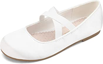 DREAM PAIRS Girls Ballerina Dress Shoes Mary Jane Flats