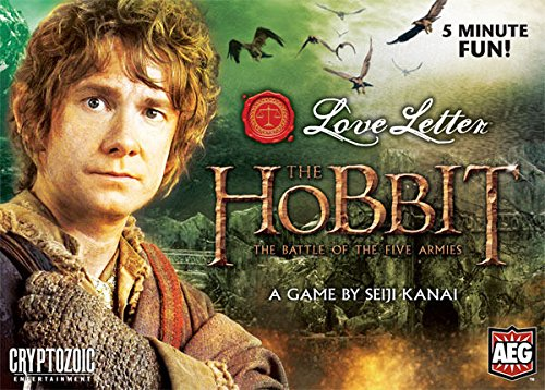 The Hobbit: The Battle of the Five Armies Love Letter Card Game Boxed AEG 5116 ^G#fbhre-h4 8rdsf-tg1375744