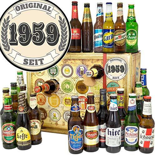 Original seit 1959 - Biere der Welt - Bieradventskalender