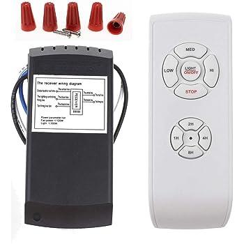 Universal Long Remote Distance Wireless Ceiling Fan Lamp Remote Controller l/ámpara de techo