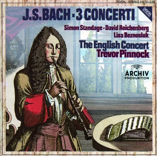 David Reichenberg, Lisa Beznosiuk, Simon Standage, The English Concert & Trevor Pinnock