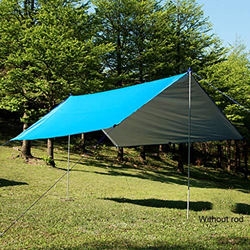 SMSJ-YJ Outdoor Multifunctionele Sky Gordijn Waterdichte Zonwerende Strand Pergola Tent Licht Vochtbestendige Mat Vloerkleed