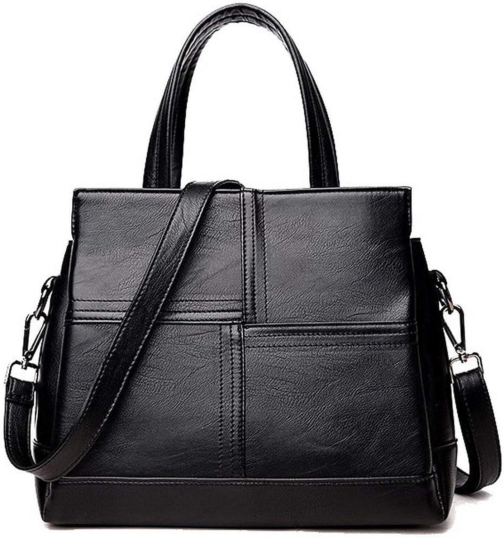 AllhqFashion Women's Tote Bags Casual Zippers PU Crossbody Bags,FBUBD181691
