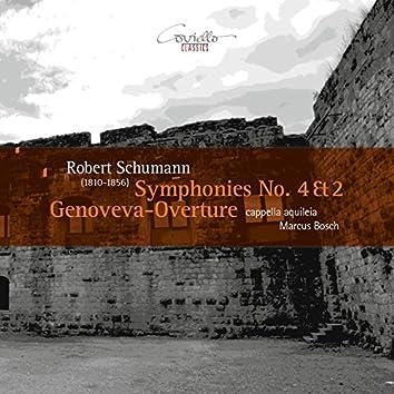 Schumann: Symphonies Nos. 4, 2 & Genoveva-Overture