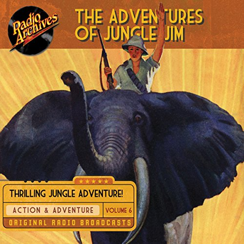 The Adventures of Jungle Jim, Volume 6 cover art