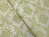 Floral Gewebe der Brokat Kleid Mint Grün–Meterware