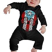 VANMASS Little Babys Heart Broken Short Sleeve Bodysuit Playsuits