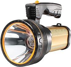AF-WAN Super Heldere Oplaadbare Zaklamp, Krachtige LED Zoeklamp 6000 Lumen Draagbare Led Zaklamp Spotlight Heavy Duty High...