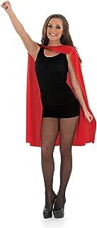 Women's Superhero Cape Blue Adult Costume, Superhero Cape Blue