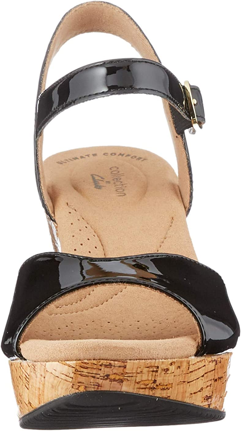 Clarks Women's Ankle-Strap Heeled Sandal