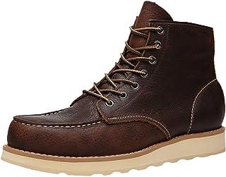 Ommda Męskie buty robocze z prawdziwej skóry