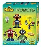 Hama 10.3227 - Juego de Cuentas, diseño de Robots