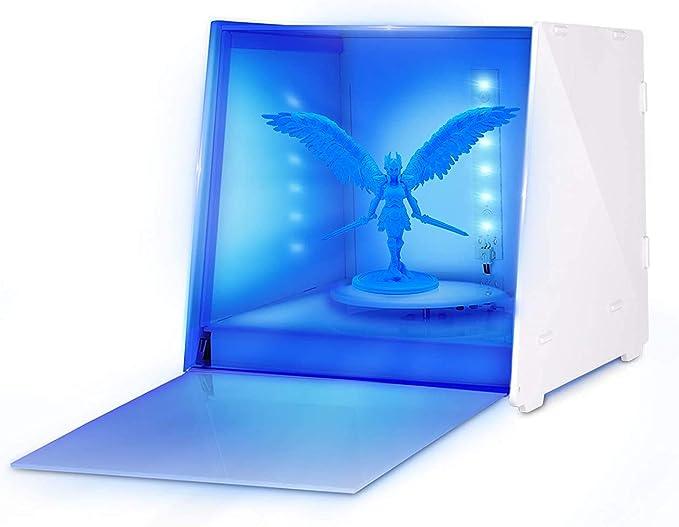 132 opinioni per SUNLU UV Resin Curing Box per LCD DLP SLA 3D Printed Resin Curing Patterns, con