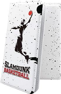 iPhone6 Plus ケース 手帳型 バスケ バスケット バスケットボール ボール スポーツ デザイン イラスト アイフォン プラス アイフォン6 ケース 手帳型ケース ユニーク おもしろ おもしろケース iphone6plus ケース かっこいい 10230-wovsdk-10001297-iphone6plus