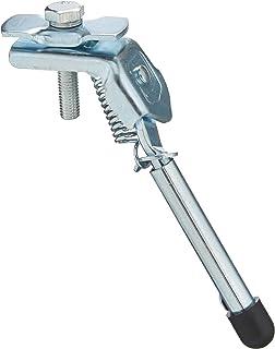 FISCHER Zijstandaard voor kinderfietsen, 12-20 inch, in hoogte verstelbaar, kinderfiets, zilver