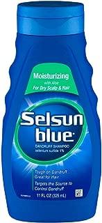 Selsun Blue Moisturizing with Aloe Dandruff Shampoo 11 oz (Pack of 6)