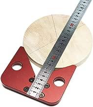 Center Finder Line Gauge Woodworking 45 Degrees Angle Line Caliber Marking Ruler Wood Measuring Scribe Tool