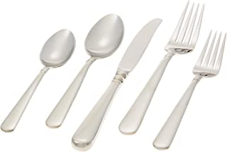 Lenox Pearl Platinum Stainless-Steel 5-Piece Place Setting, Service for 1 -