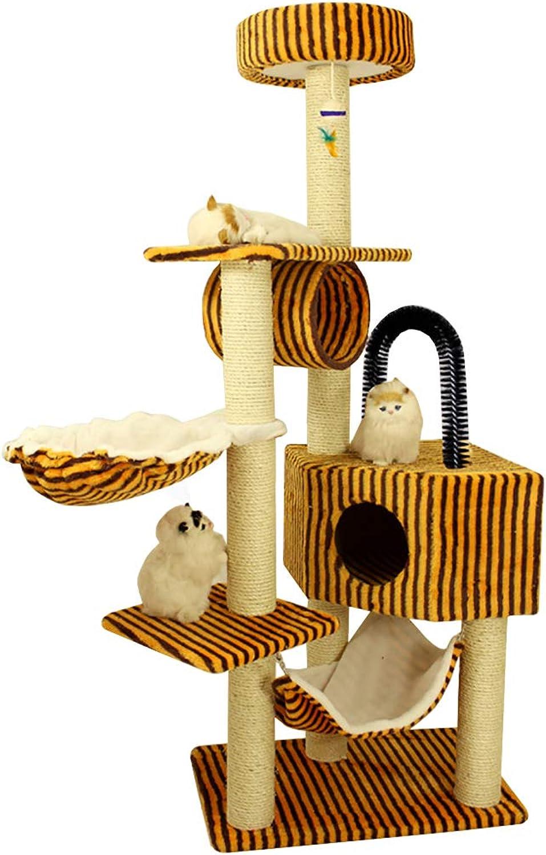 QAHMPJ Cat Tree With Scratch Post, Cat Litter Pet Supplies, Epilator (color   G)