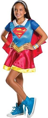 disfrutando de sus compras Supergirl Disfraz Wonder Woman en en en caja infantil L Rubies Spain 630448-L  promociones de descuento