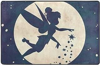 24948241 Tapis Fee Disney Clochette 170x100cm Monbeautapis