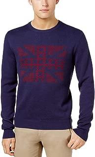 Men's Union Jack Jacquard Sweater