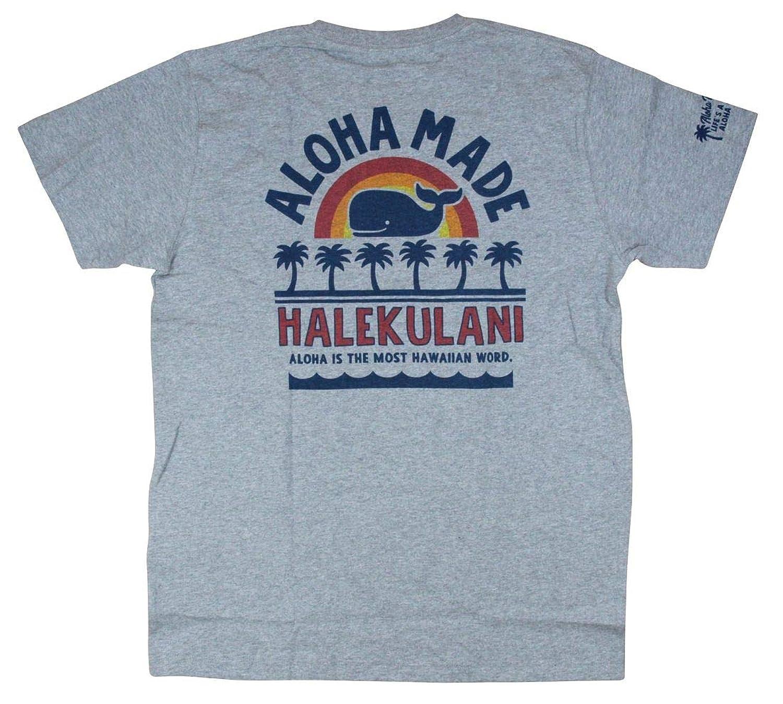 アロハメイド レディース 半袖 Tシャツ (レディース/グレー) 192MA2ST145 フララニ ハワイアン雑貨 サーフブランド