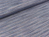 Quality Textiles Leichter Jeansstoff Yukon Pinstripe Kupfer