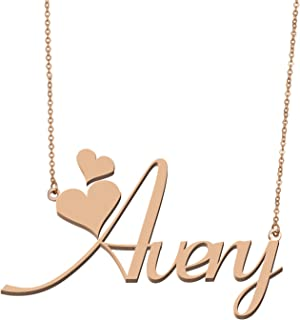 Women's Customized Custom Name Necklace Personalized