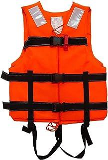 Chaleco Salvavidas Pescar WANGT Chalecos Salvavidas Chaleco Chaleco de Ayuda a la flotabilidad,Azul,XL Kayak navegar Ayuda para Nadar Chaleco Salvavidas Multifuncional para Adultos