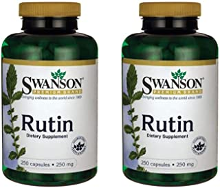 Swanson Rutin Bioflavonoid Circulation 250 mg 250 Caps 2 Pack