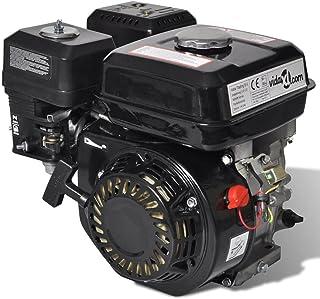 vidaXL Motor de Gasolina Negro 6,5HP 4,8kW Recambio Coche Herramienta Vehículo
