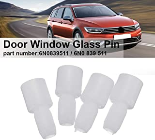 Jonathan-Shop - 4Pcs Movable Door Window Glass Pin For VW Passat B5 B7 Jetta
