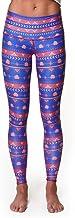product image for Teeki Women's Leggings or Hot Pants, Large, Choose Roses Blue Pattern
