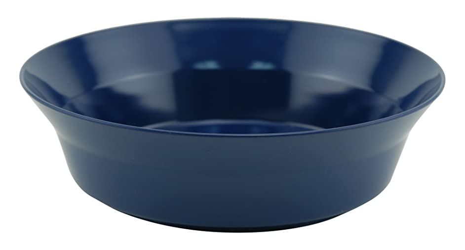 Galleyware Blue Melamine Non-Skid Serving Bowls, Set Of 4
