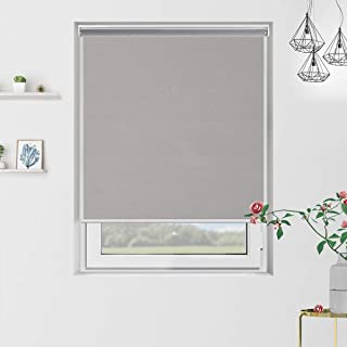 black white and grey roller blinds