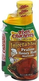 Tony Chacheres Injectable Honey Praline Ham Marinade-2 bottles of 17 ounces