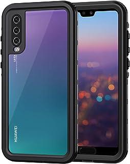 4b15a08f275 Lanhiem Funda Impermeable Huawei P20 Pro, Carcasa Resistente Al Agua IP68  Certificado [Protección de