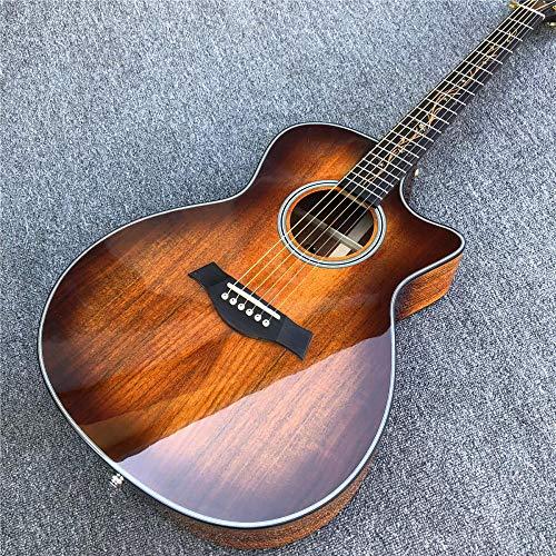 Gitarre Ebenholz GriffbrettAkustikgitarre Koa Gitarre