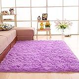 gdmgdr Ultra Soft Nursery Rugs Kids Rugs for Playroom Bedroom and Living Room 4' x 5.3', Purple