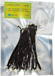 Madagascar Vanilla Beans. Whole Grade A Vanilla Pods for Vanilla Extract and Baking (5-6