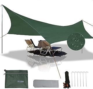 gracosy Waterproof Camping Tarp Sunshade UV Protection...