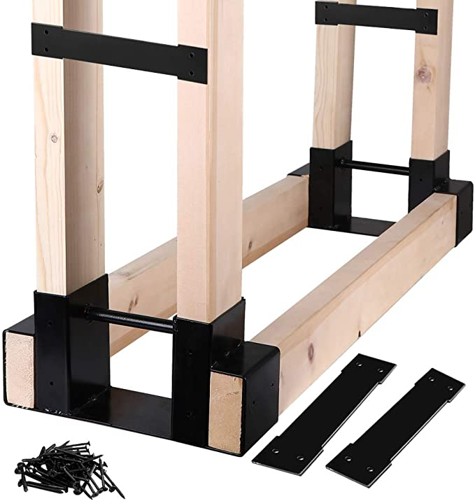 Mofeez Outdoor Firewood Log Storage Rack - Premium Quality