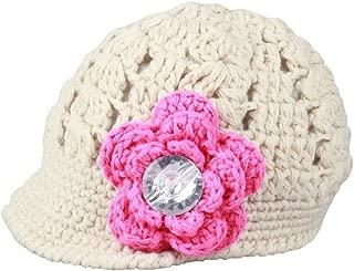 Baby Girls Crochet Knitted Newborn Knotted Hat Beanie
